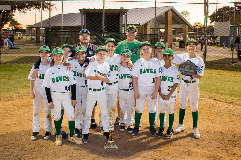 2020 Fall 11U (Gold) KNLL Toys for Tots Tournament, Champions