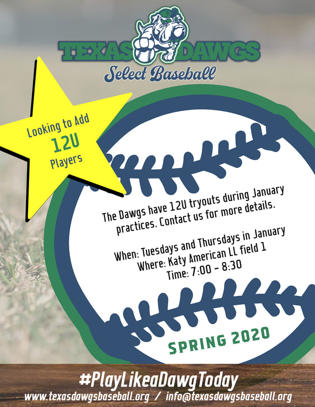 12U Practices - Join the Dawgs