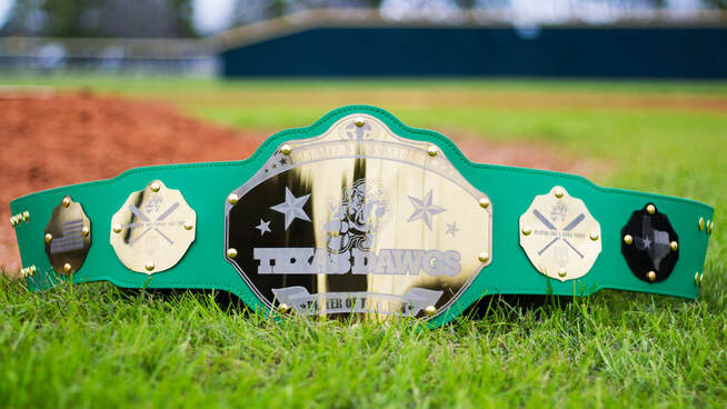 Played Like a Dawg Today Belt