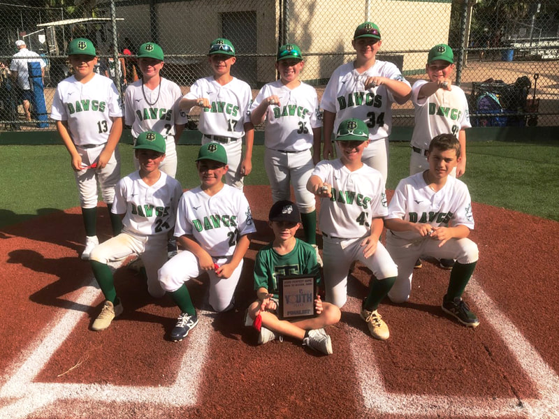"2020 Fall 12U (Gold) Perfect Game Back to School Bash at Baseball USA ""The Yard"", Finalist"